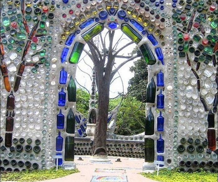 Декорированный забор