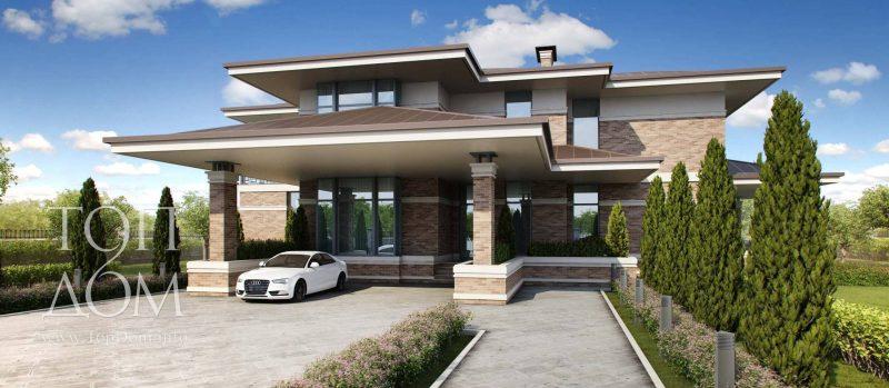 Большой дом с элитной отделкой