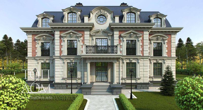 Самые красивые фасады домов