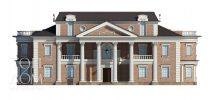 Главный фасад резиденции