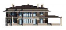 Фасад современного дома - проект