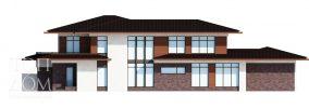 Внутренний фасад проекта дома