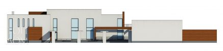 Фасад современного проекта
