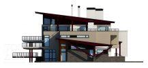 Проект бокового фасада