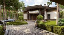 Архитектура фасада дома