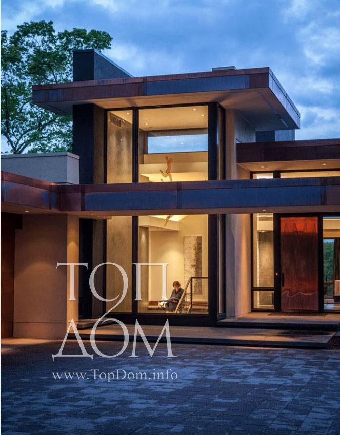 Дома в стиле минимализм - 3 фото