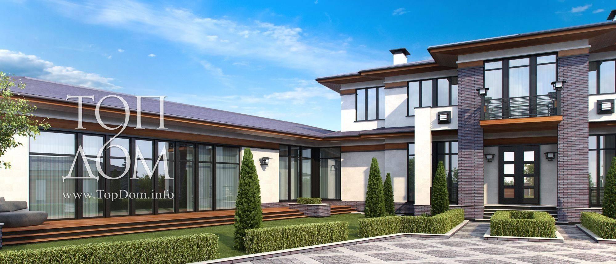 Проект дома с бассейном фото