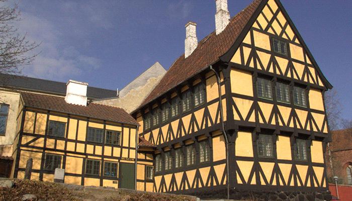 Немецкий дом в стиле фахверк