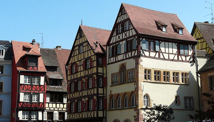 Окна в домах стиля фахверк