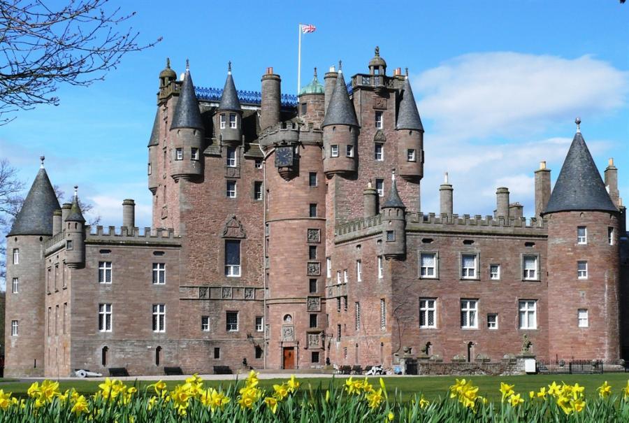 Glamis Castle - Шотландия