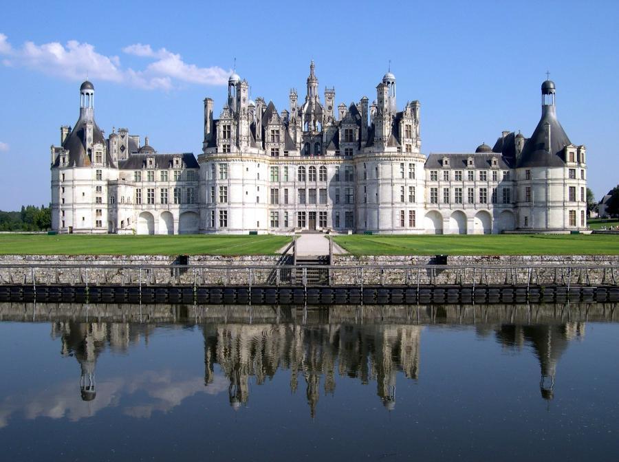 Замок в стиле французского ренессанса