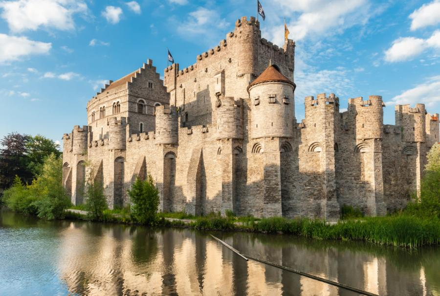 Castle of Gravensteen - Ghent - Бельгия