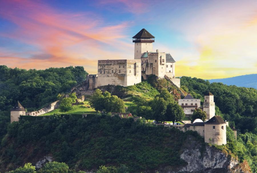 Замок Тренчин - Словакия