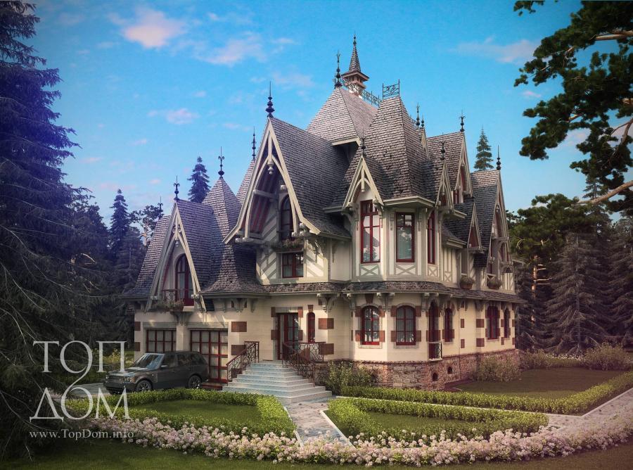 Проект в готическом стиле