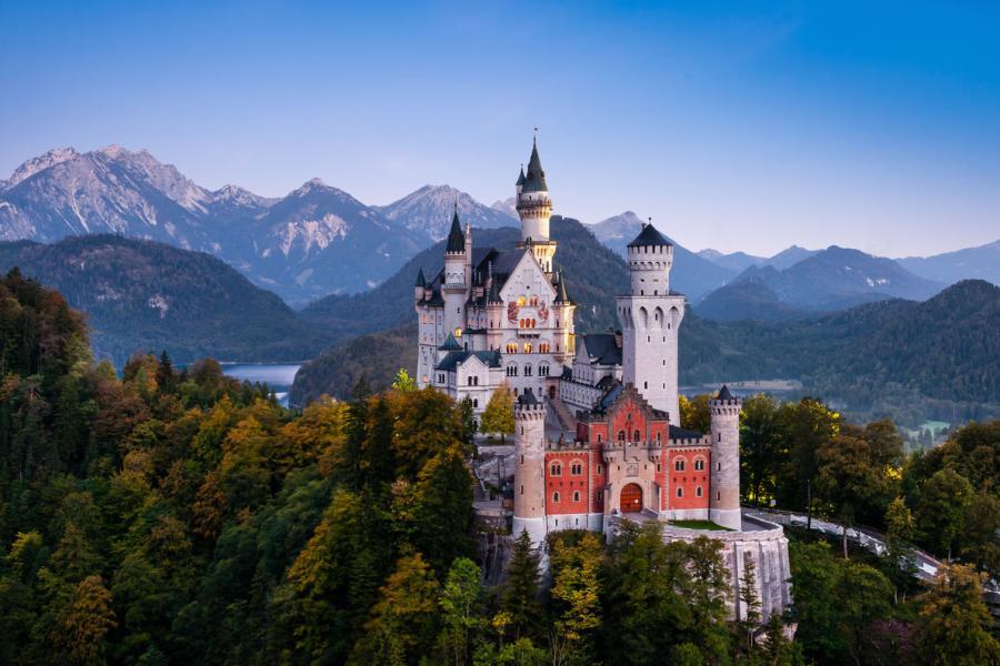 Neuschwanstein Castle - Германия