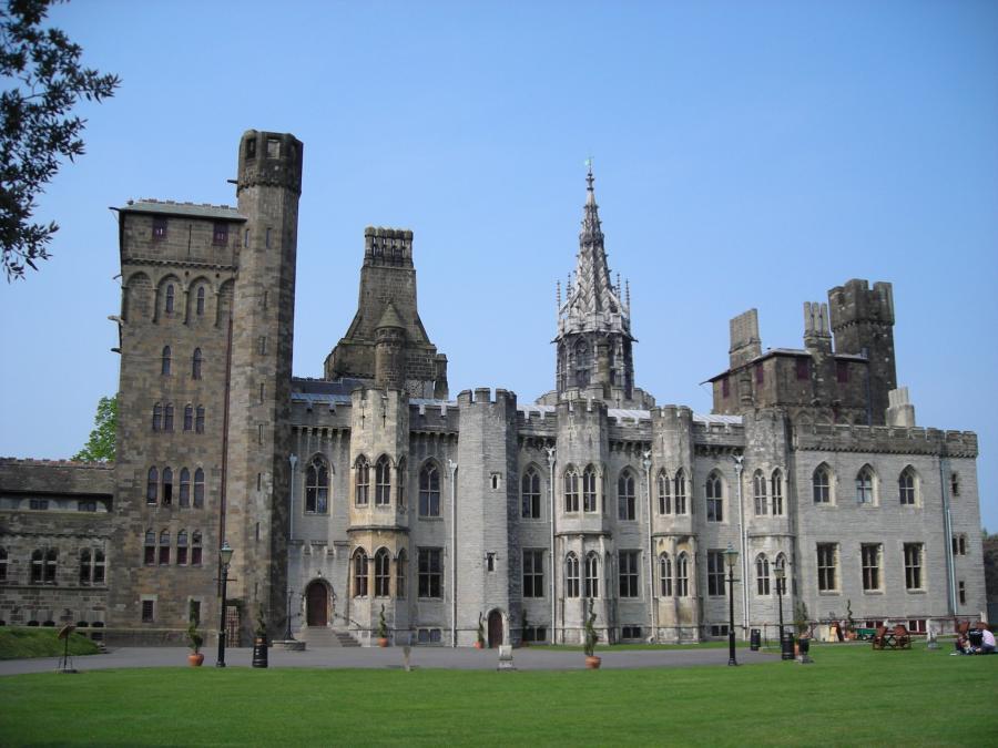 Кардиф Castle - Уэльс