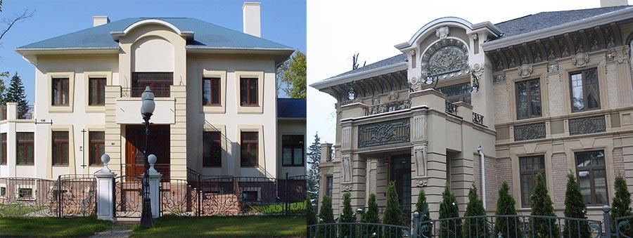 Реконструкция дома - до и после