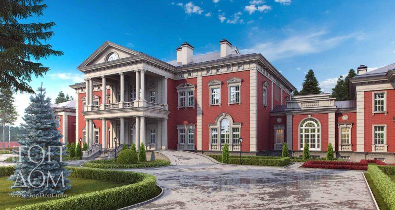 Элитные фасады дома