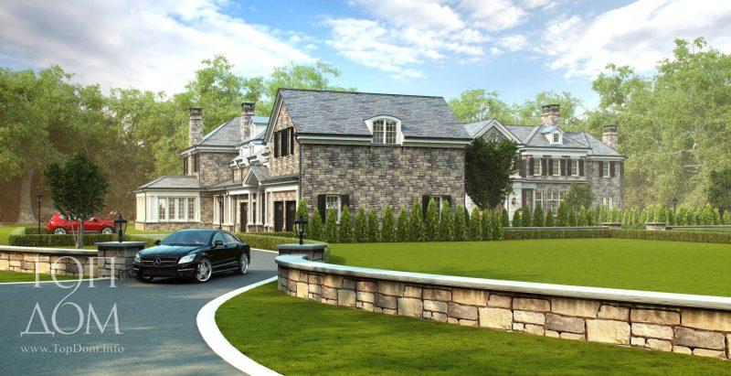 Отделка элитного дома