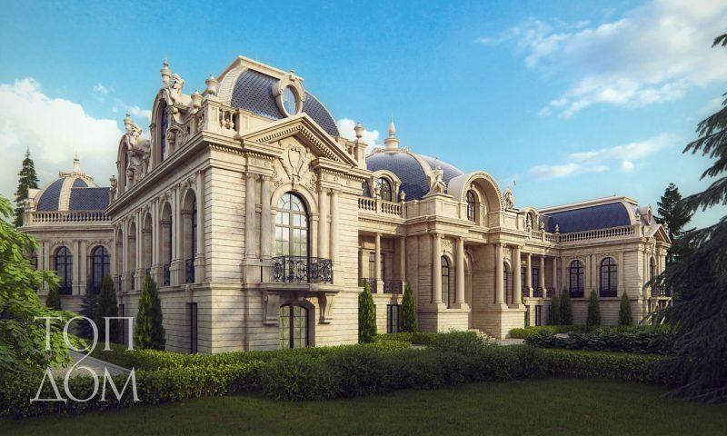 Дворец в Подмосковье