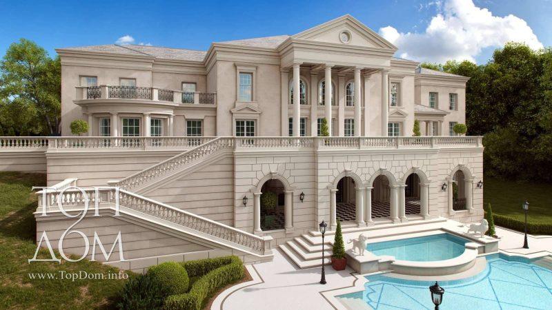 Эксклюзивный проект дома в классицизме