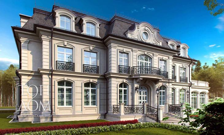 Элитная резиденция в стиле английской классики