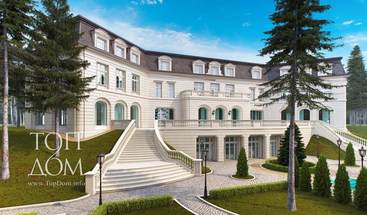 Строительство элитного дома в классическом стиле