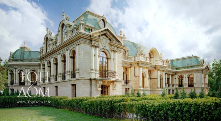 Архитектурный проект дворца