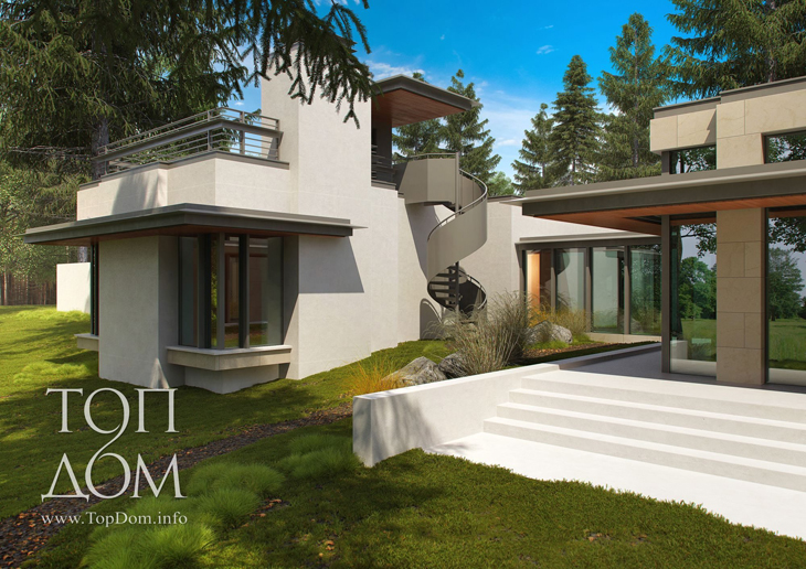 Частное строительство одноэтажного дома