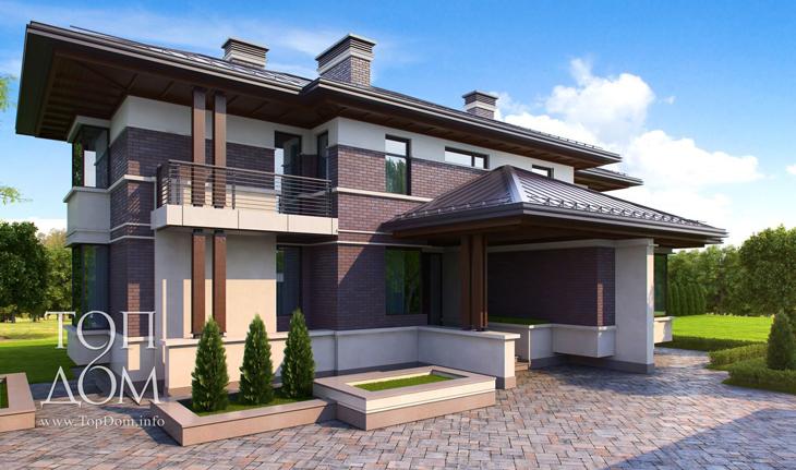 Проект строительства кирпичного дома