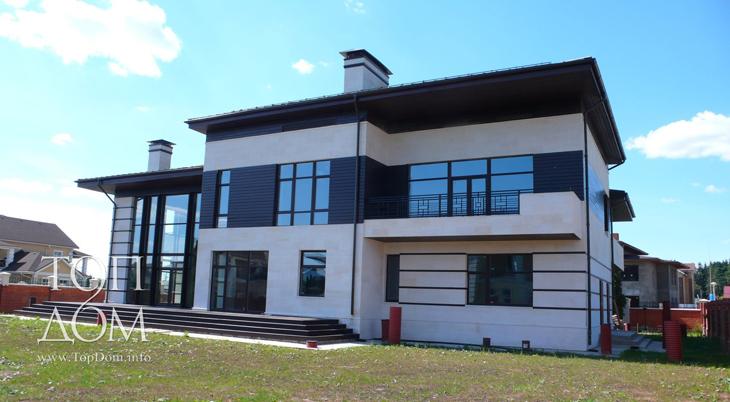 Загородное строительство дома – сдан под черновую отделку