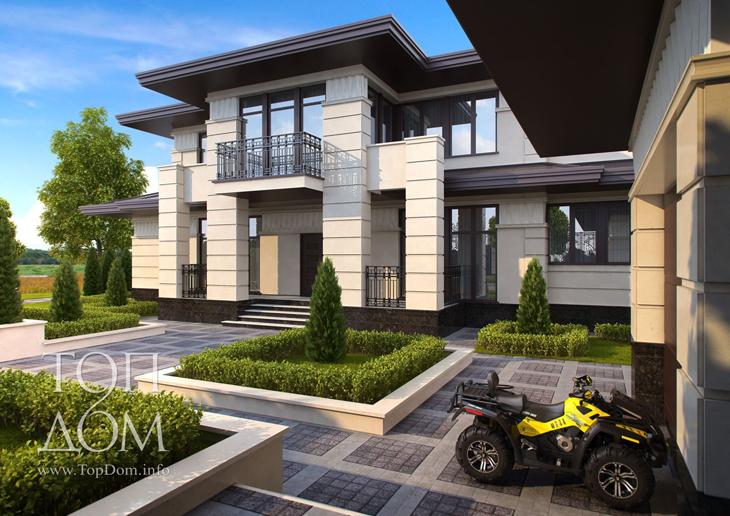 Строительство частного дома – готовый проект коттеджа