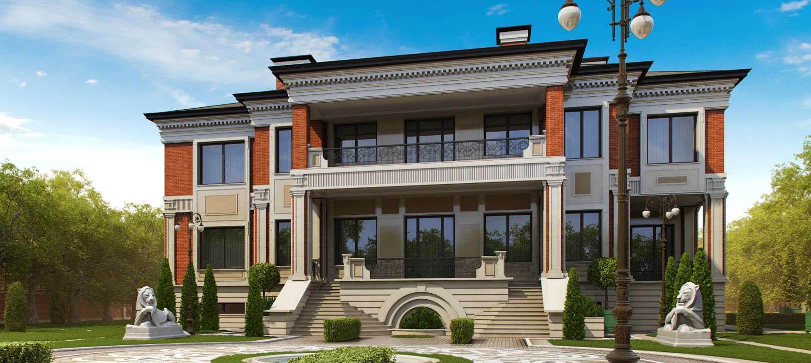 Проект двухэтажного дома без гаража