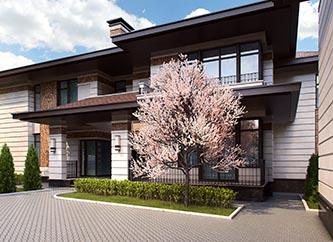 Архитектурное решение дома