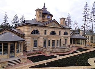 Загородный дом в стиле классицизм
