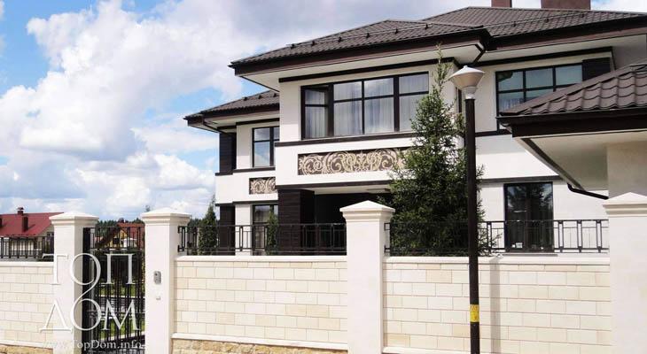Реализованный проект коттеджа – построенный монолитный дом