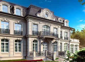 Загородная резиденция в стиле английской классики