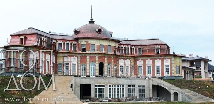 Строительство дворца – проект и реальные фото