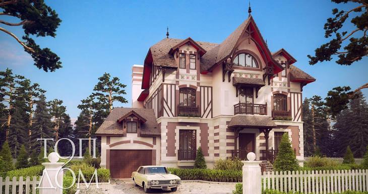 Проект строительство большого дома