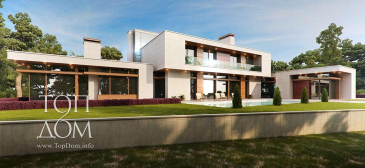 Элитный дом в стиле минимализма
