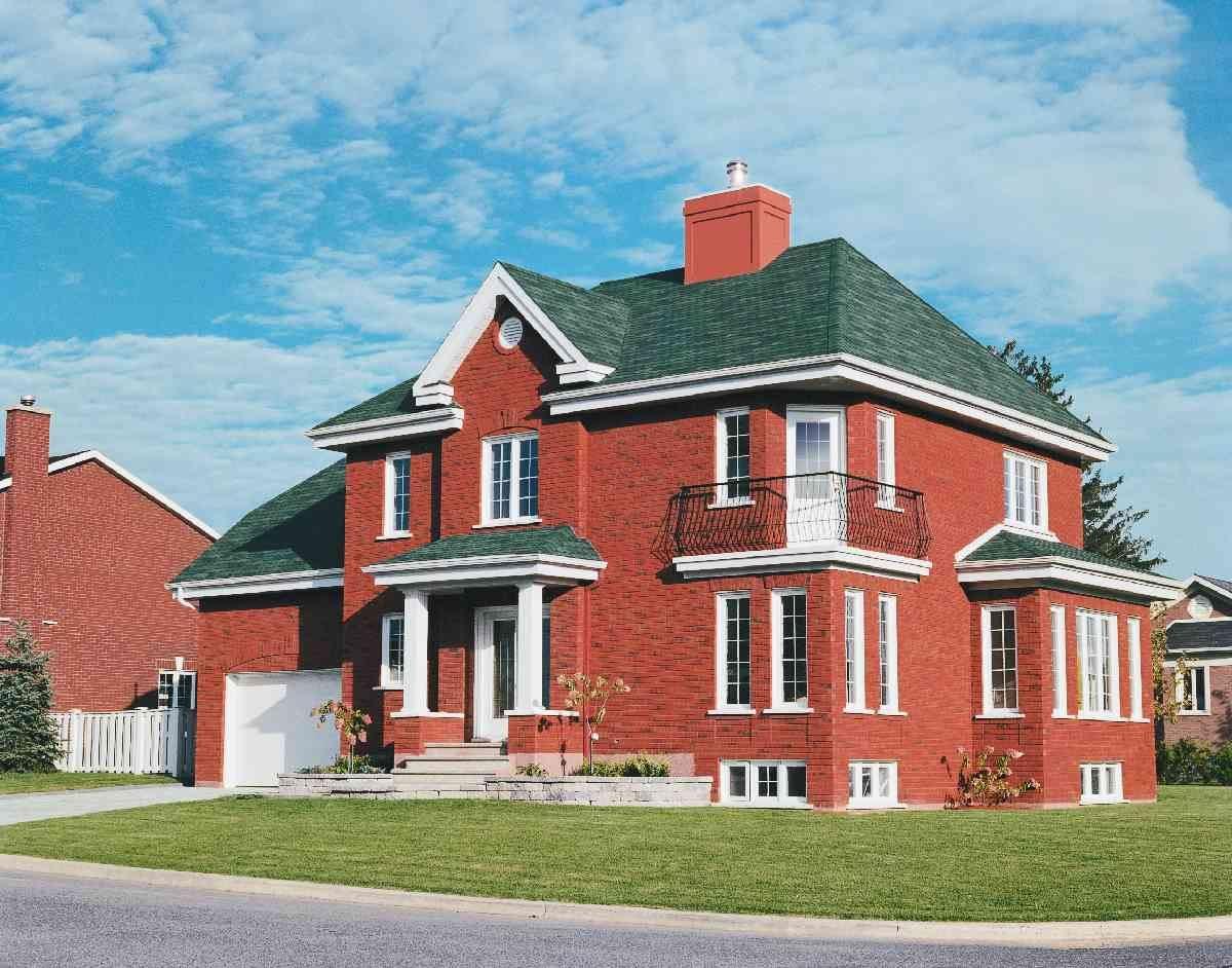 штукатурка является красивые дома из красного кирпича фото помощью установщика люверсов