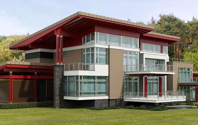 Пример эскизного проекта дома