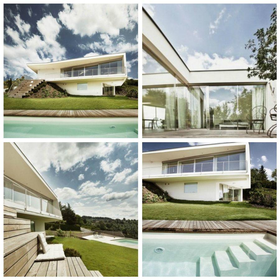 Villa P – это оригинальный проект, разработанный австрийской студией Love Architecture