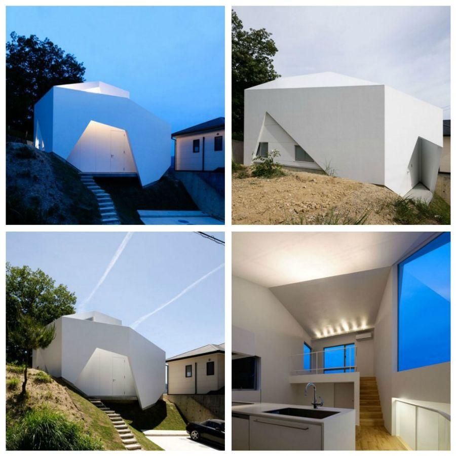Ysy House был построен студией Auau в японском городе Сето