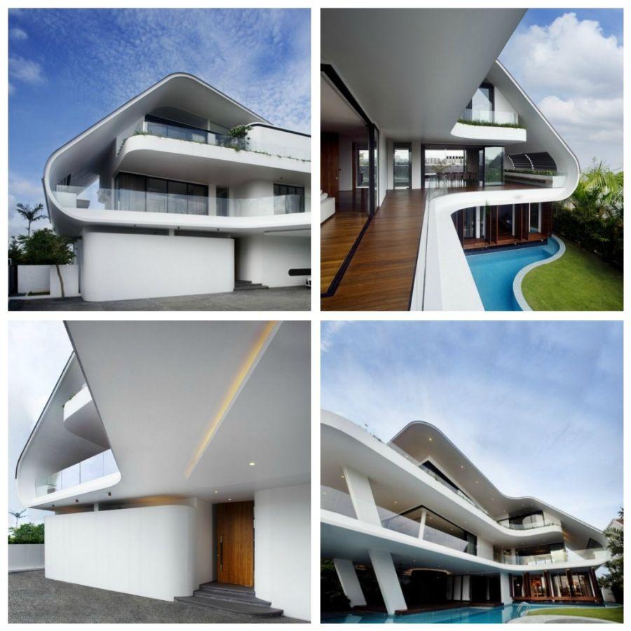 Дом Ninety 7 @ Siglap, спроектированный Aamer Architects
