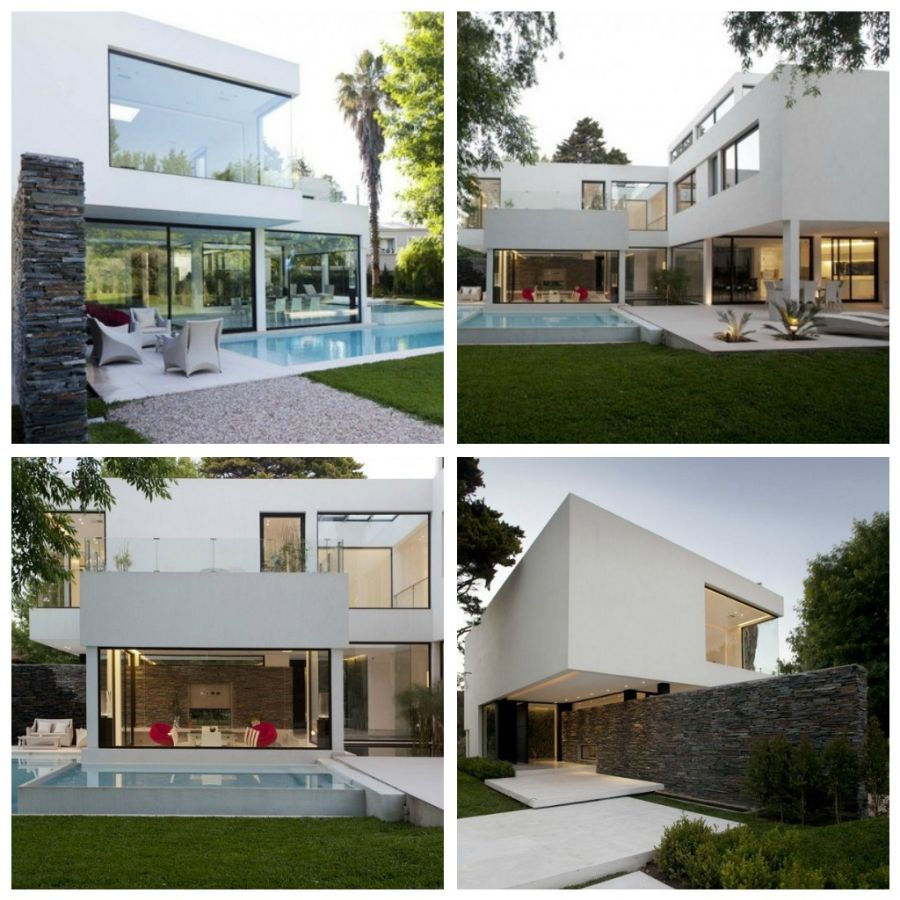 Дизайн Carrara House ( Буэнос - Айрес, Аргентина) был придуман компанией Andres Remy Arquitectos