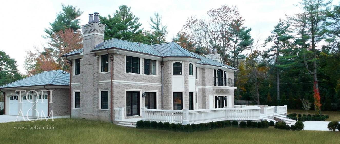 Готовый дом и камня под ключ