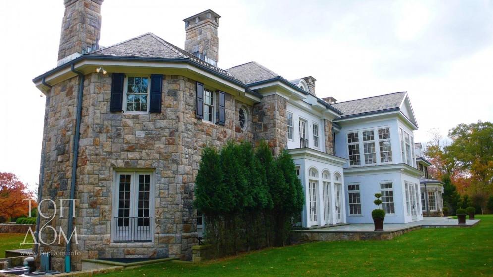 Проект дома в американском стиле
