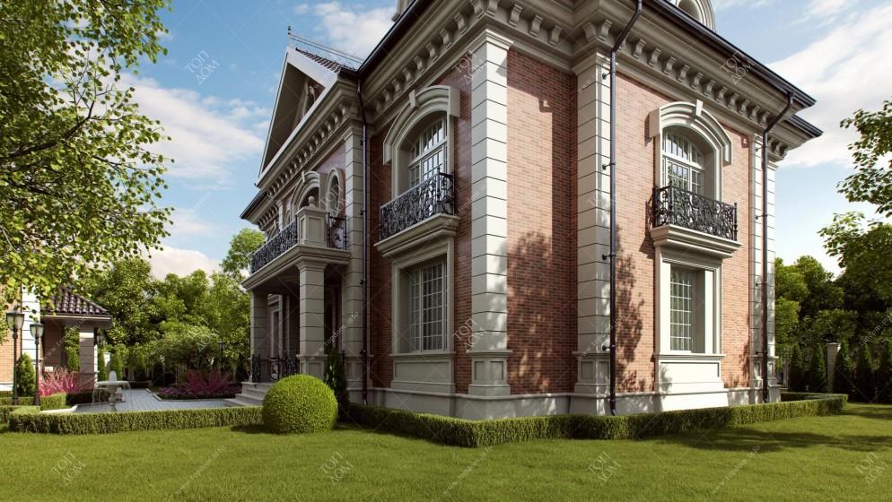 Красивый частный дом