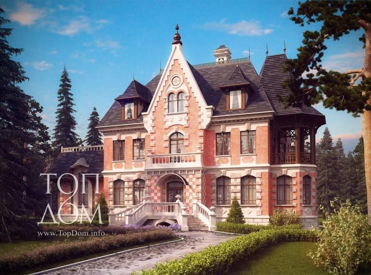 проекты кирпичных традиционных русских домов лучшие обои, фото